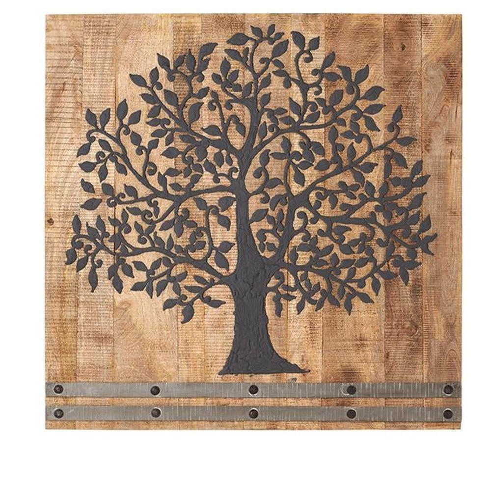 Featured Image of Tree Of Life Wood Carving Wall Art