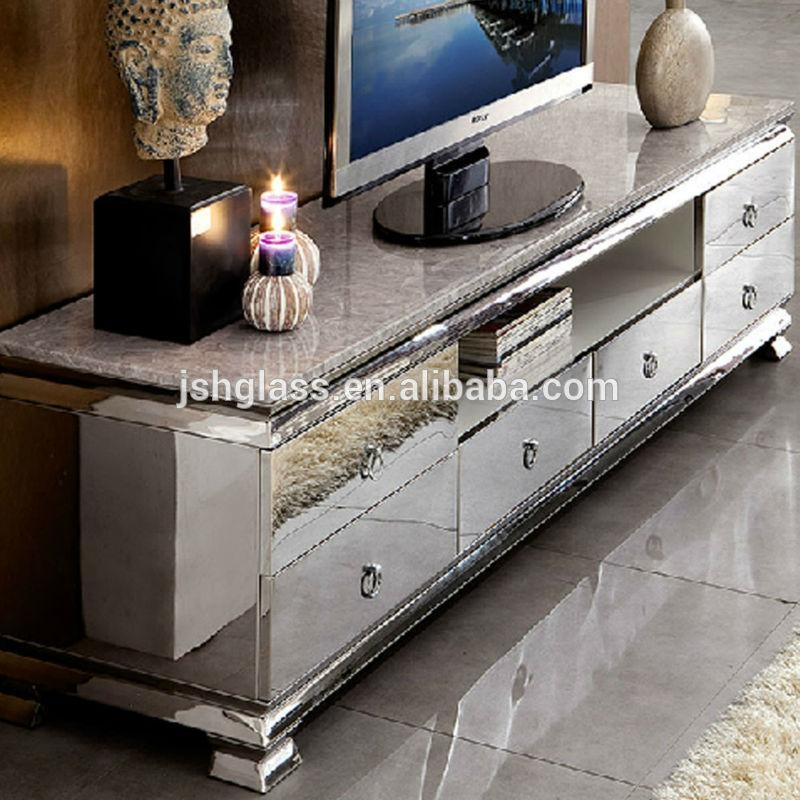 Featured Image of Mirrored Tv Cabinets Furniture