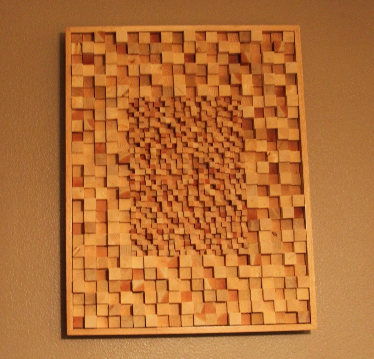 Home Design : Islamic Wall Art Calligraphy Meccaart Inside Carved Intended For Talking Dead Wood Wall Art (View 8 of 20)