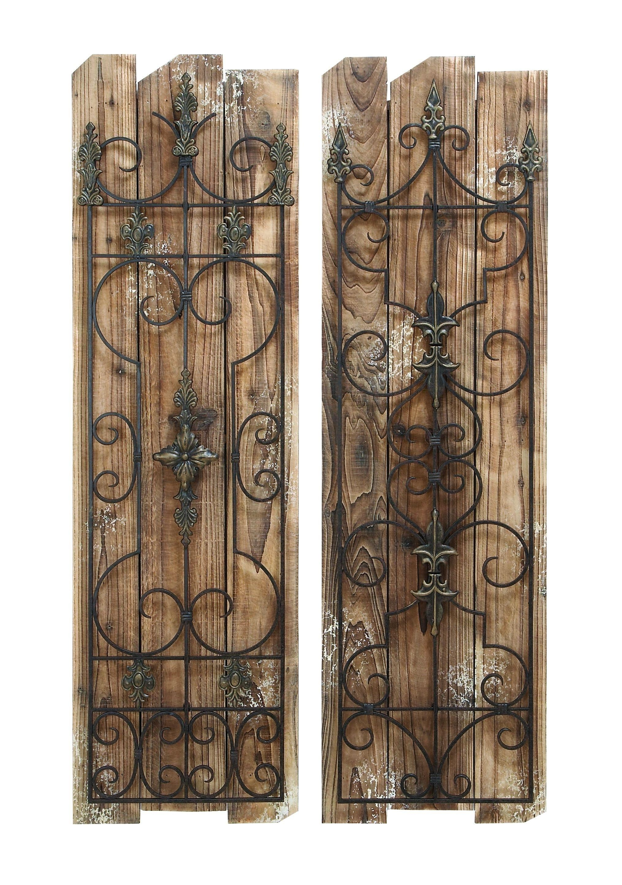 Home Design : Rustic Wood And Metal Wall Art Beach Style Expansive Throughout Inexpensive Metal Wall Art (View 15 of 20)
