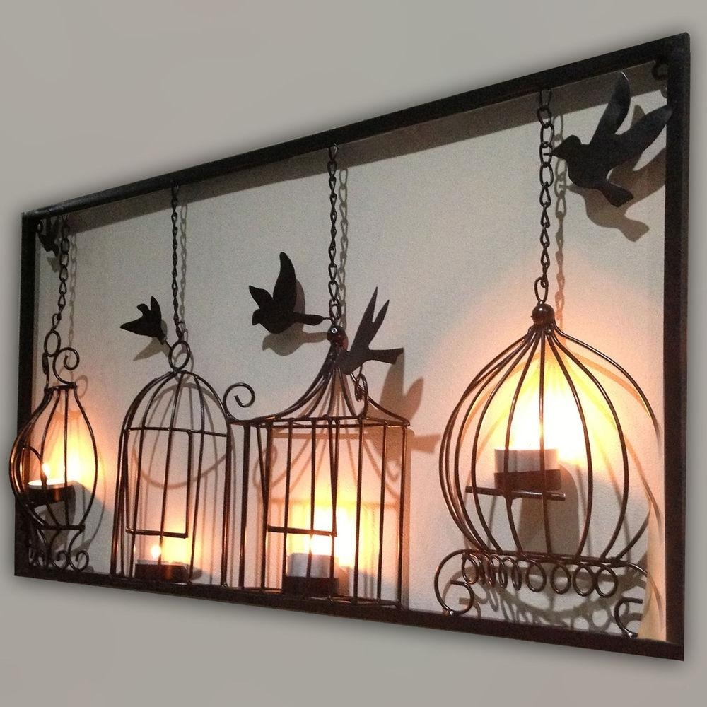 Home Design : Superb Large Iron Wall Decor 7 Rustic Wood Art Metal In Wood And Iron Wall Art (Image 11 of 20)