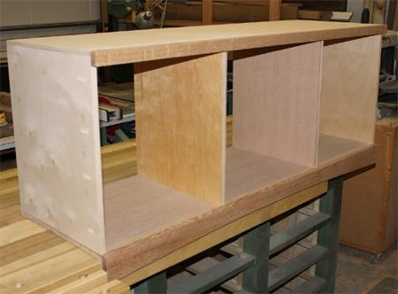 Home Dzine Home Diy   Make A Diy Flat Screen Tv Stand Within Most Recently Released Birch Tv Stands (View 14 of 20)