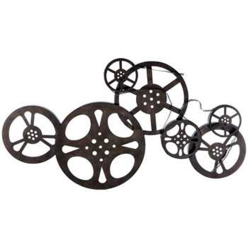 Home Theater Decor Movie Reel And Film 21 Sayitallonthewall Film Throughout Movie Reel Wall Art (Image 10 of 20)