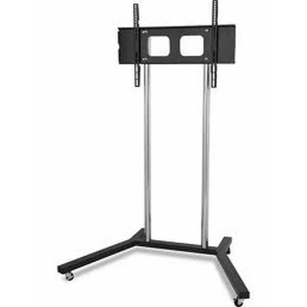 "Homevision Tygerclaw 22"" To 60"" Mobile Tv Stand With Tv Mounting Inside Best And Newest Tv Stands With Bracket (View 6 of 20)"
