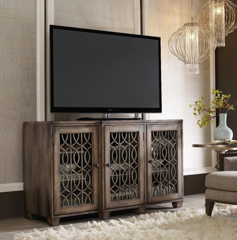 Hooker Furniture Tv Stand | Fpudining With Latest Fancy Tv Stands (View 8 of 20)