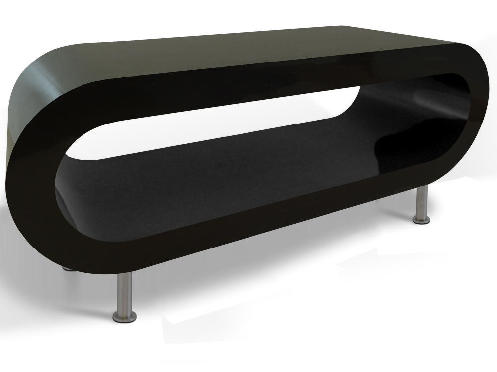 Hoop Coffee Table Large – Zespoke Pertaining To Most Recently Released White Gloss Oval Tv Stands (View 13 of 20)