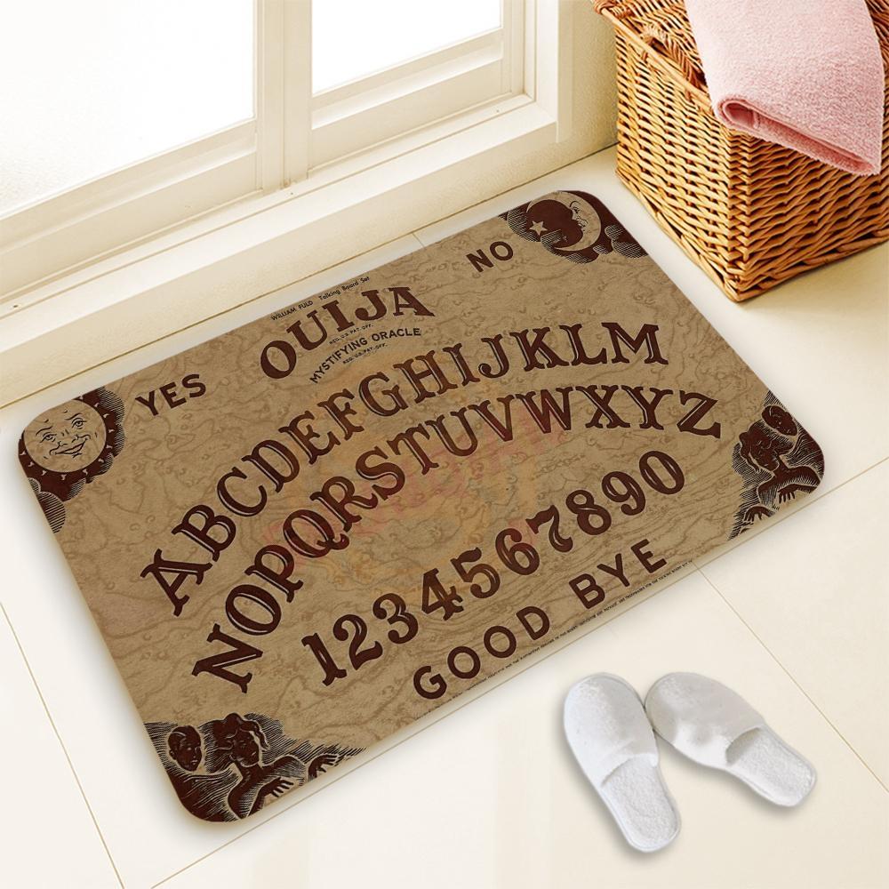 Hot Sale Custom Ouija Board Door Mat Art Design Pattern Printed Intended For Ouija Board Wall Art (Image 5 of 20)
