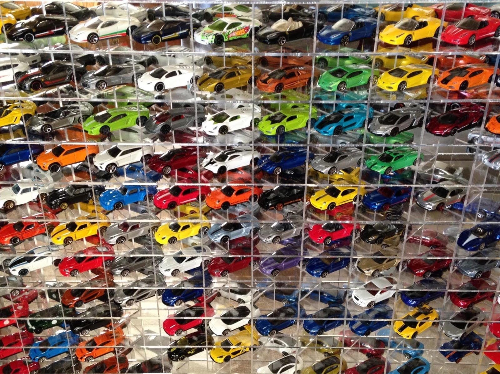 Hotwheels Exotic Car Collection Display Case Tour – Youtube In Hot Wheels Wall Art (View 10 of 20)