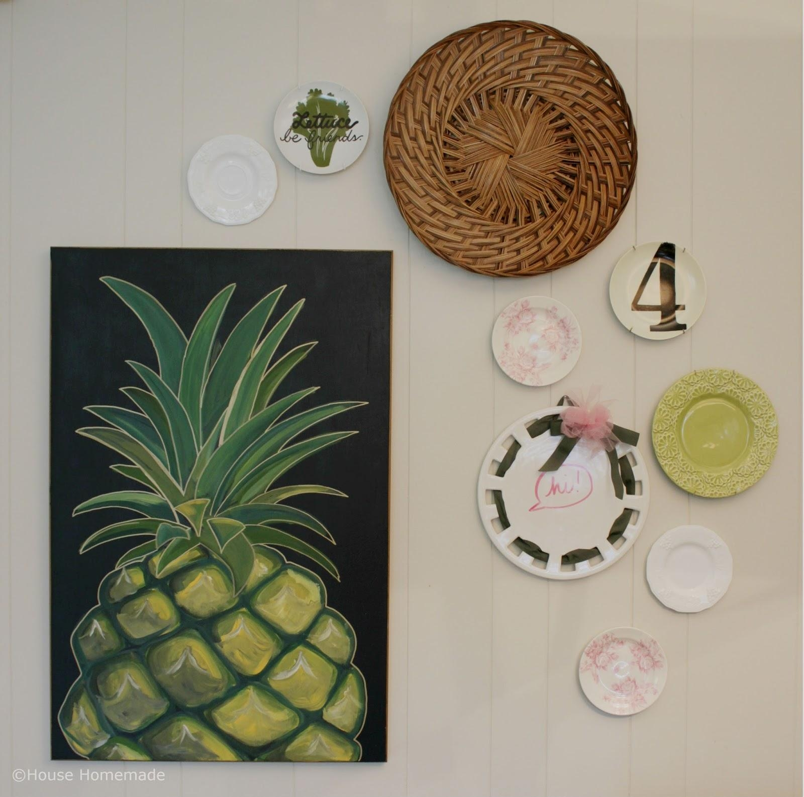 House Homemade: How To Turn Decor Into Wall Art Pertaining To Turn Pictures Into Wall Art (Image 5 of 20)