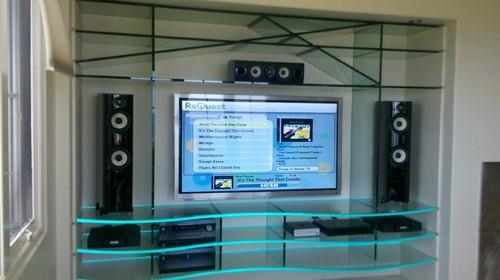How Did You Put The Led Light On The Tv Stand? In Best And Newest Tv Stands With Led Lights (Image 5 of 20)