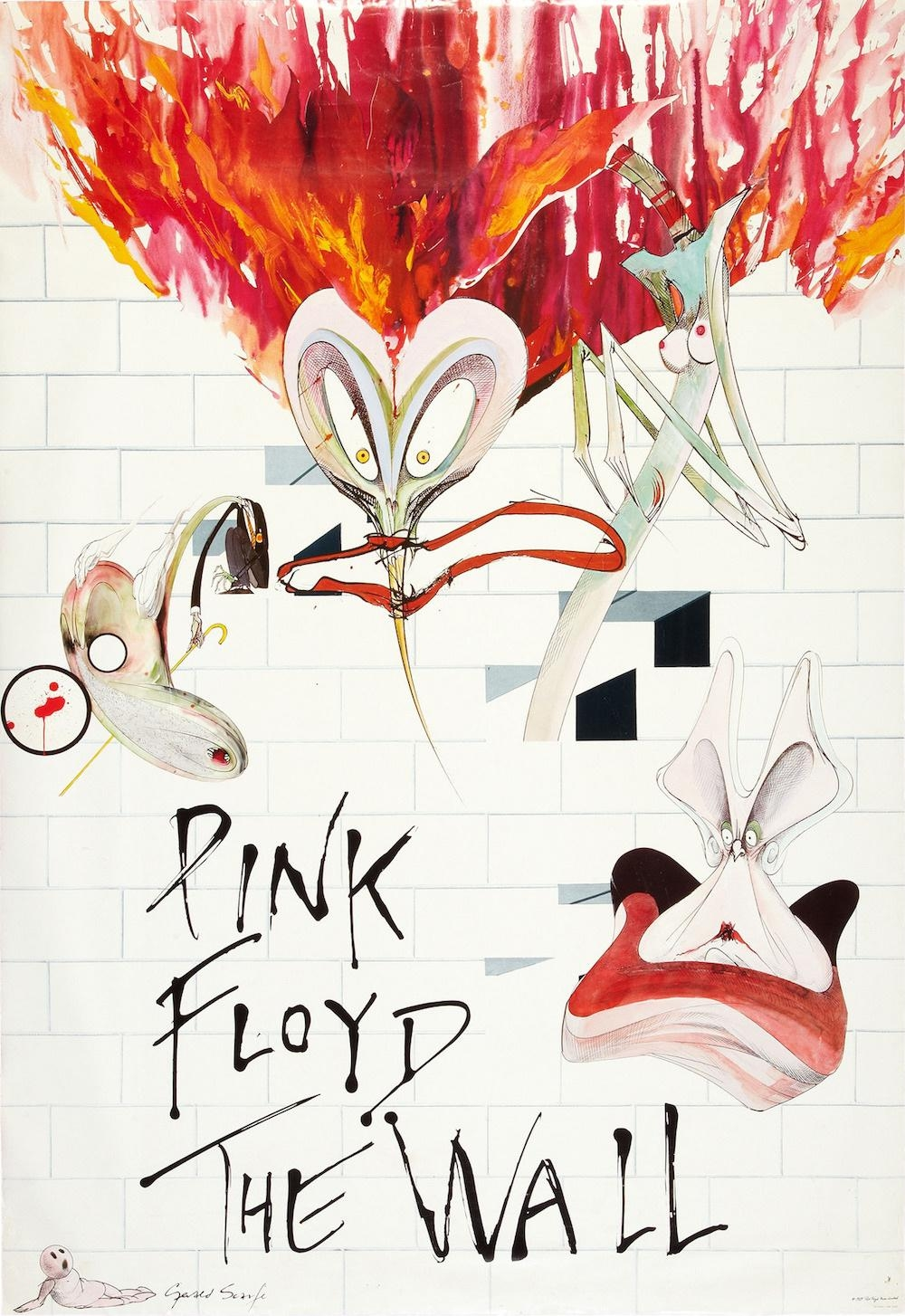 How Gerald Scarfe And Pink Floyd Built 'the Wall' – Illustration Throughout Gerard Wall Art (View 8 of 20)