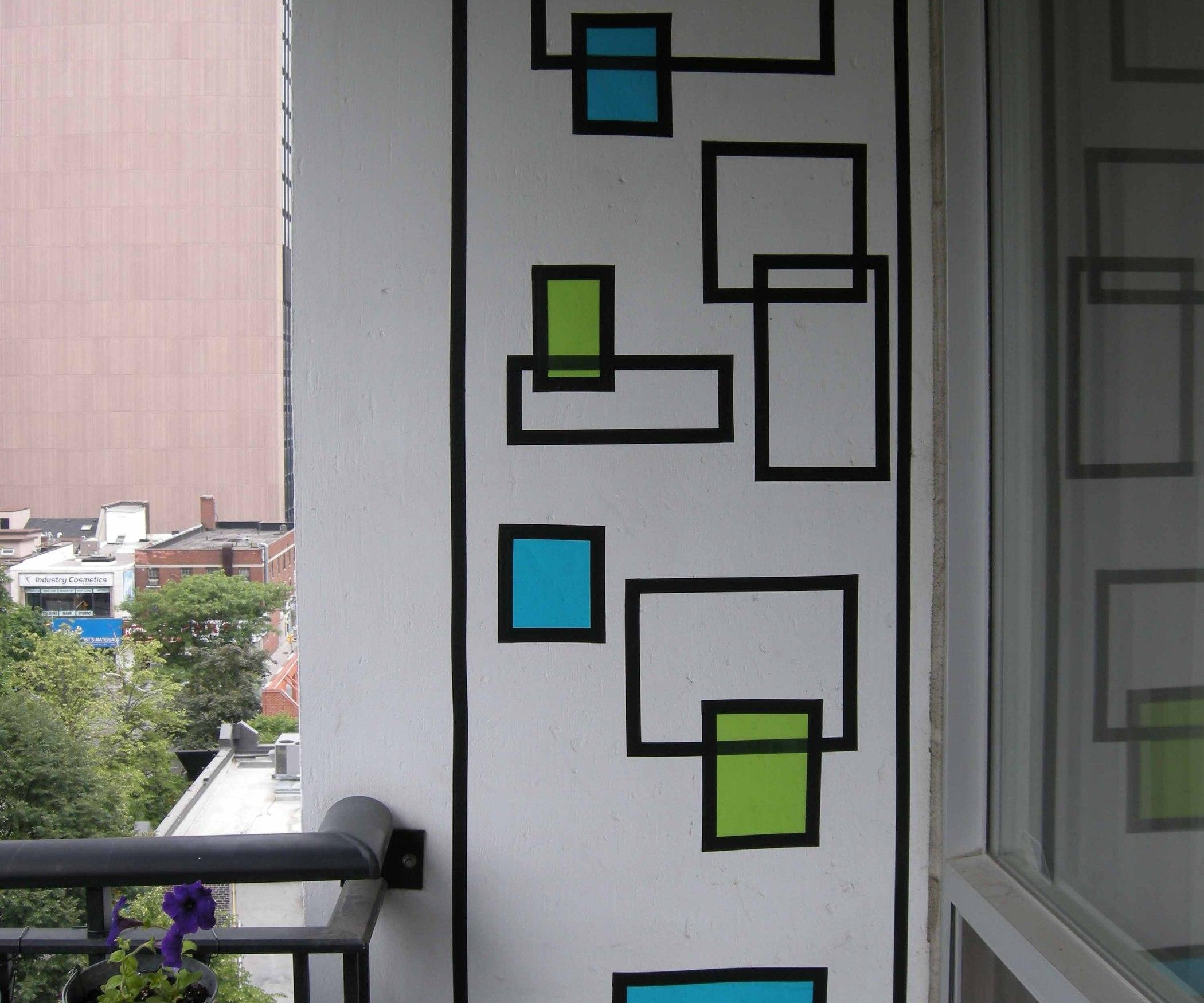 How To Create Wall Art With Electrical Tape: 6 Steps (With Pictures) Pertaining To Duct Tape Wall Art (Image 17 of 20)
