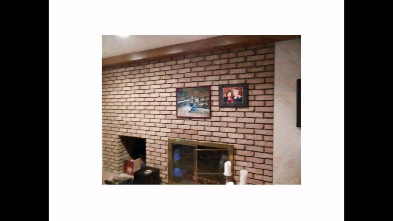 How To Hang Stuff Easily On A Brick Wall Or Fireplace Without Throughout Hanging Wall Art For Brick Wall (View 6 of 20)