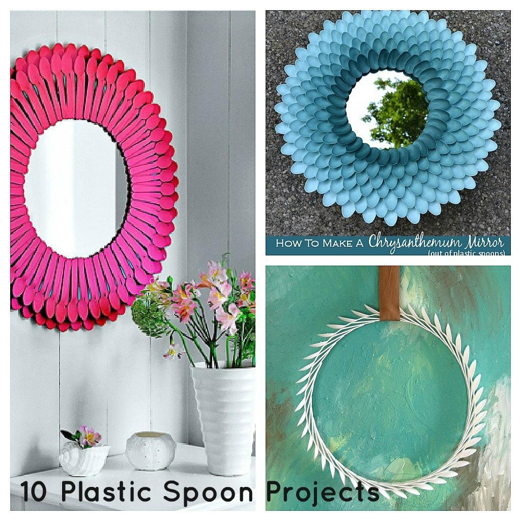How To Recycle: Recycled Plastic Spoons And Forks Within Plastic Spoon Wall Art (View 9 of 20)