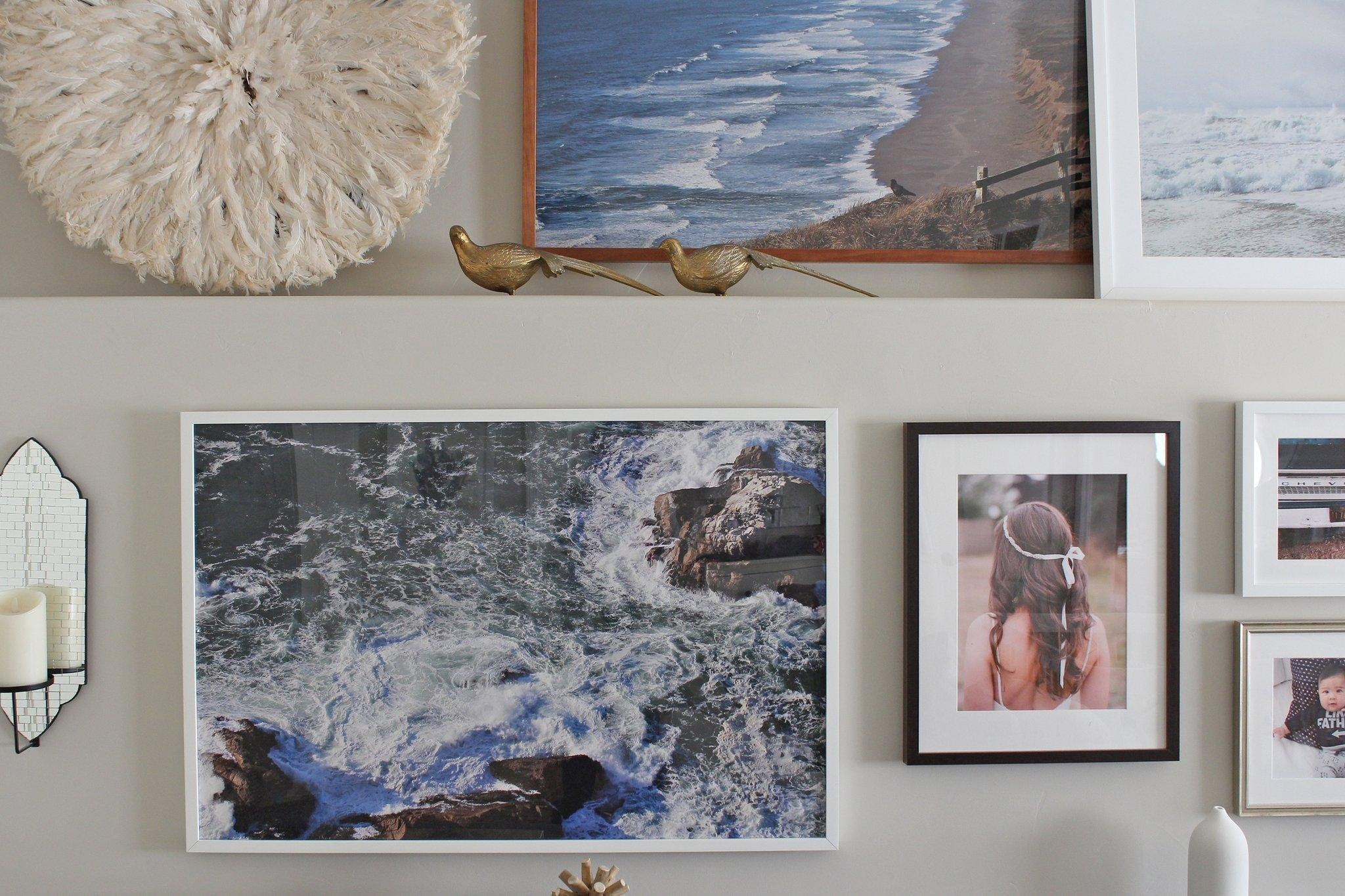 How To Turn Your Photos Into Art | Popsugar Home Inside Turn Pictures Into Wall Art (View 5 of 20)