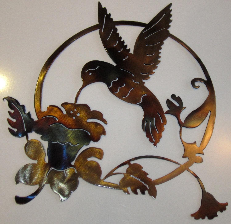 Hummingbird Metal Art With Regard To Hummingbird Metal Wall Art (Image 9 of 20)