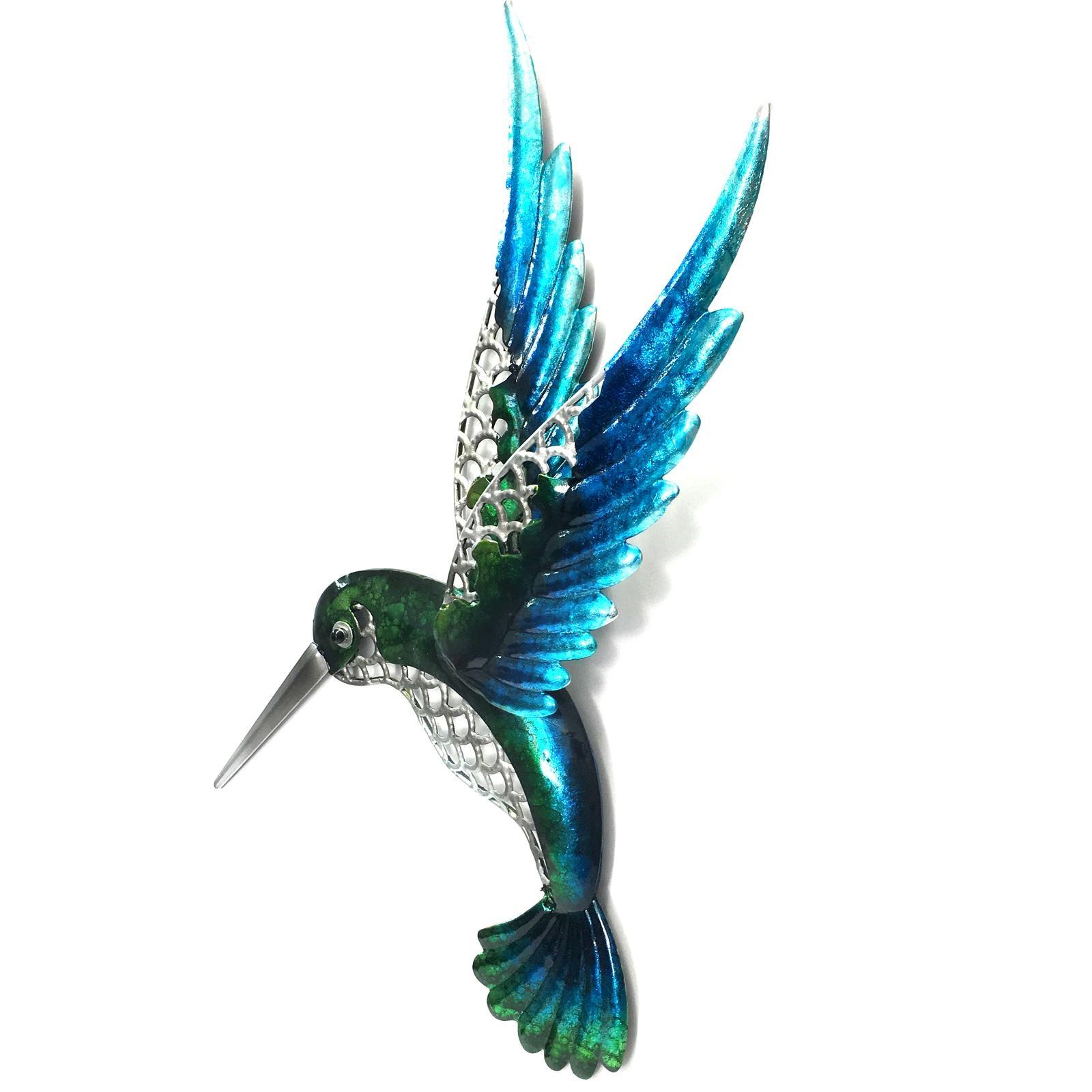Hummingbird Metal Wall Art 46Cm With Regard To Hummingbird Metal Wall Art (Image 10 of 20)