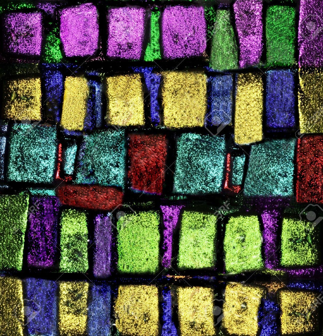 I Hand Fused This Dichroic Glass 4X4 Piece Of Art (View 20 of 20)
