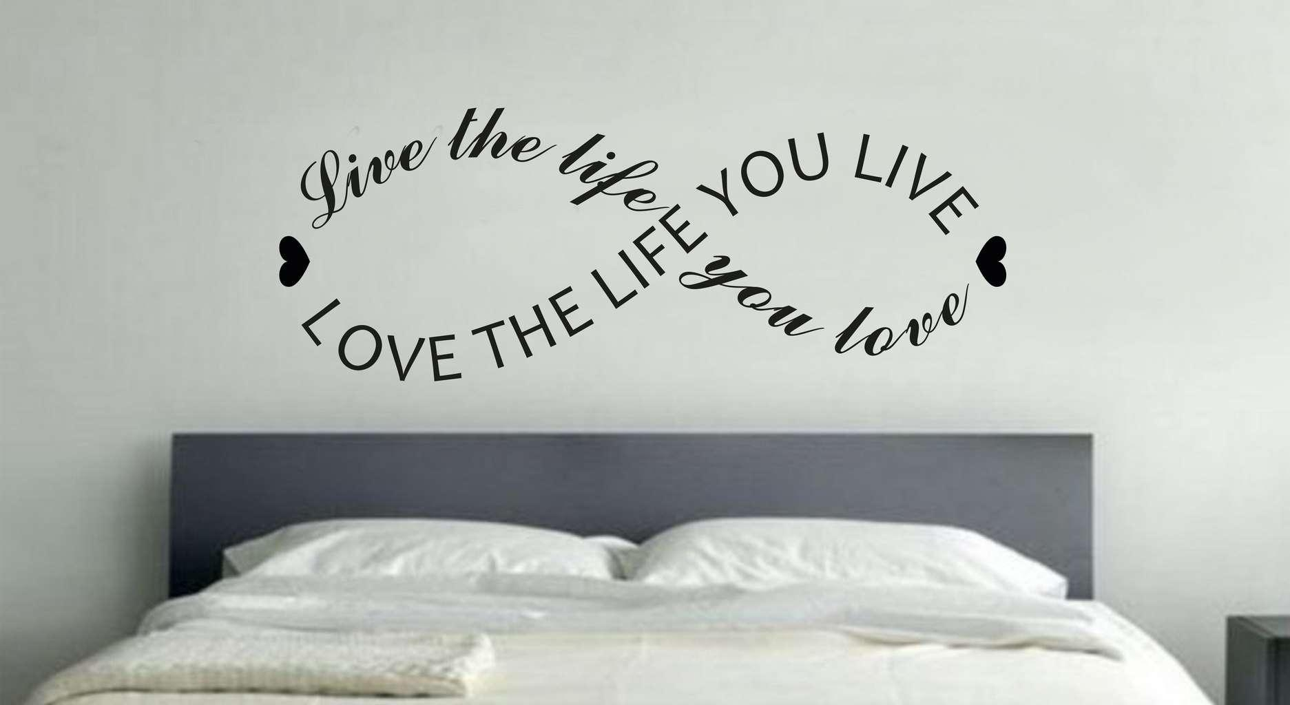 I Love You More Decal Wall Quote Love Wall Art Decor Stickers Inside I Love You More Wall Art (View 13 of 20)
