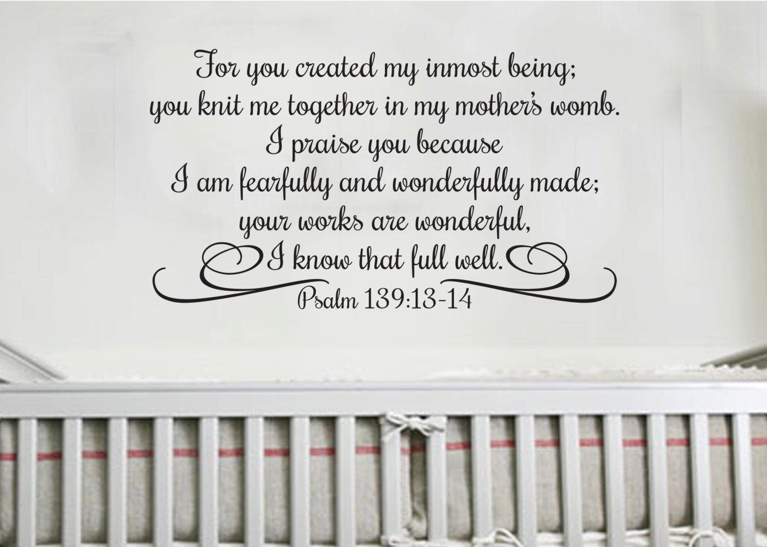 I Praise You Because I Am Fearfully And Wonderfully For Fearfully And Wonderfully Made Wall Art (View 8 of 20)