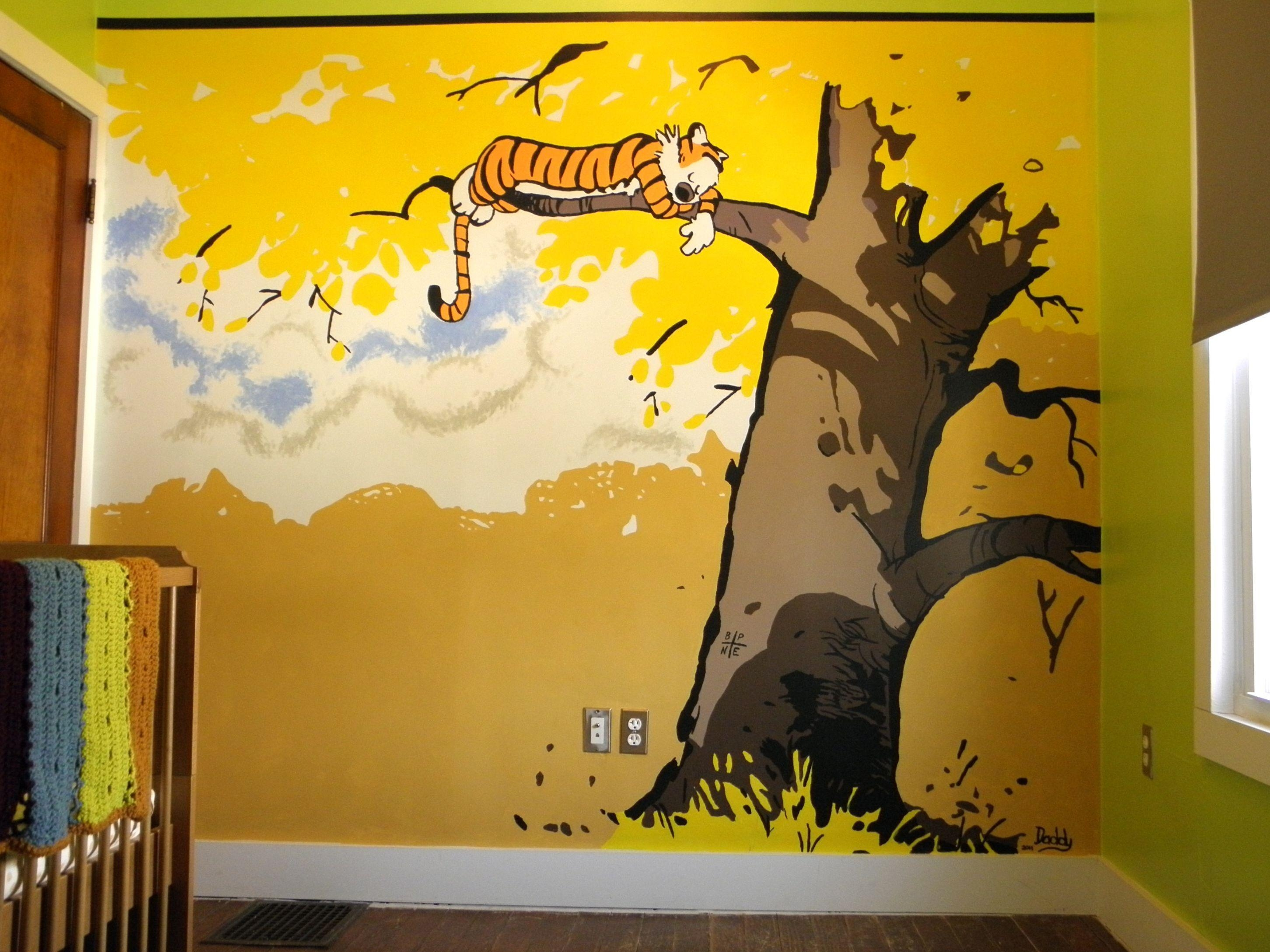 Fantastic Calvin And Hobbes Wall Art Ensign - The Wall Art ...