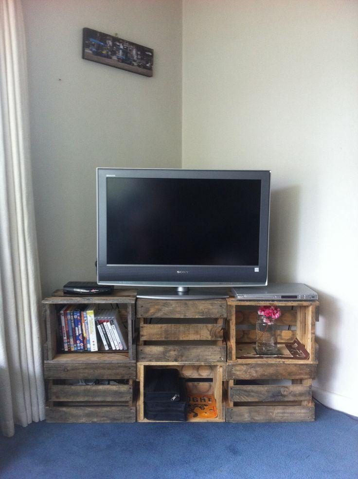 Ideas For A Tv Stand Shining Unique Tv Stand Ideas Contemporary Pertaining To Most Popular Cheap Tv Tables (Image 18 of 20)