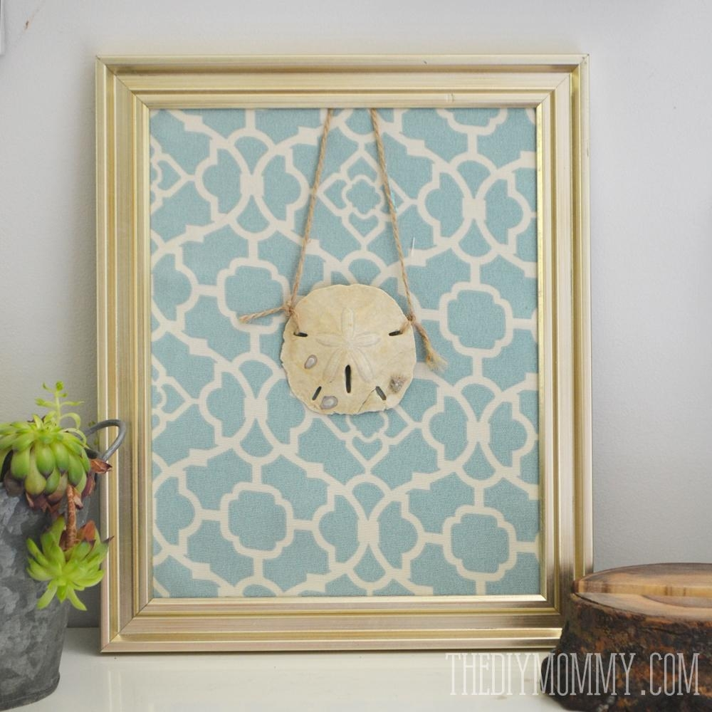 Ideas For Preserving Summer Beach Memories #kindermom | The Diy Mommy Within Sand Dollar Wall Art (Image 4 of 20)