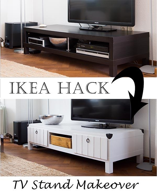 Ikea Lack Tv Stand Makeover – Ikea Hackers – Ikea Hackers Intended For 2018 Tv Console Table Ikea (Image 14 of 20)