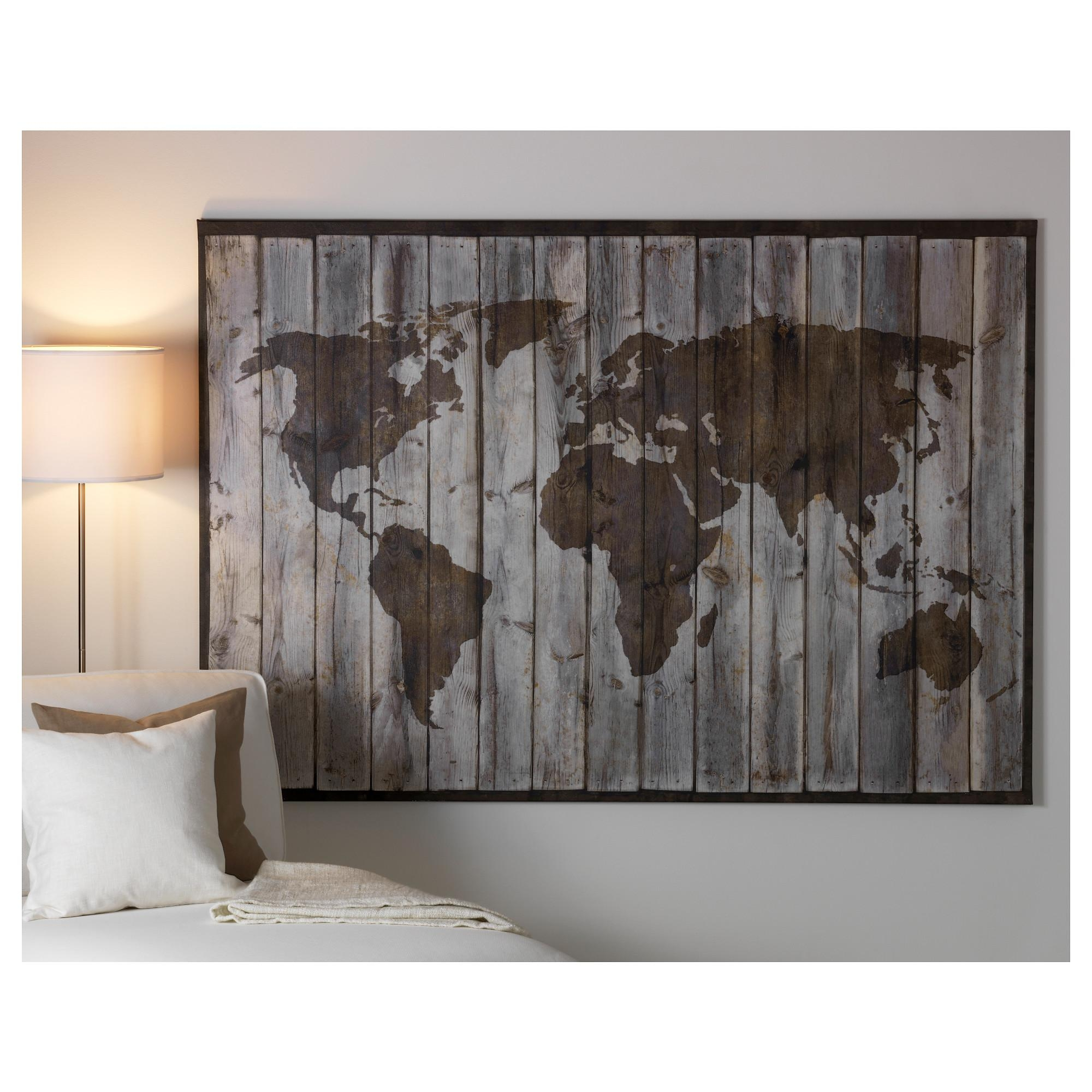 Ikea Premiar World Map Discontinued : Ikea Premiar World Map Within Ikea Giant Wall Art (View 7 of 20)