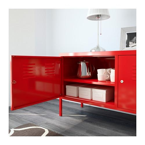 Ikea Ps Cabinet – White – Ikea Pertaining To Most Up To Date Red Gloss Tv Cabinet (View 10 of 20)