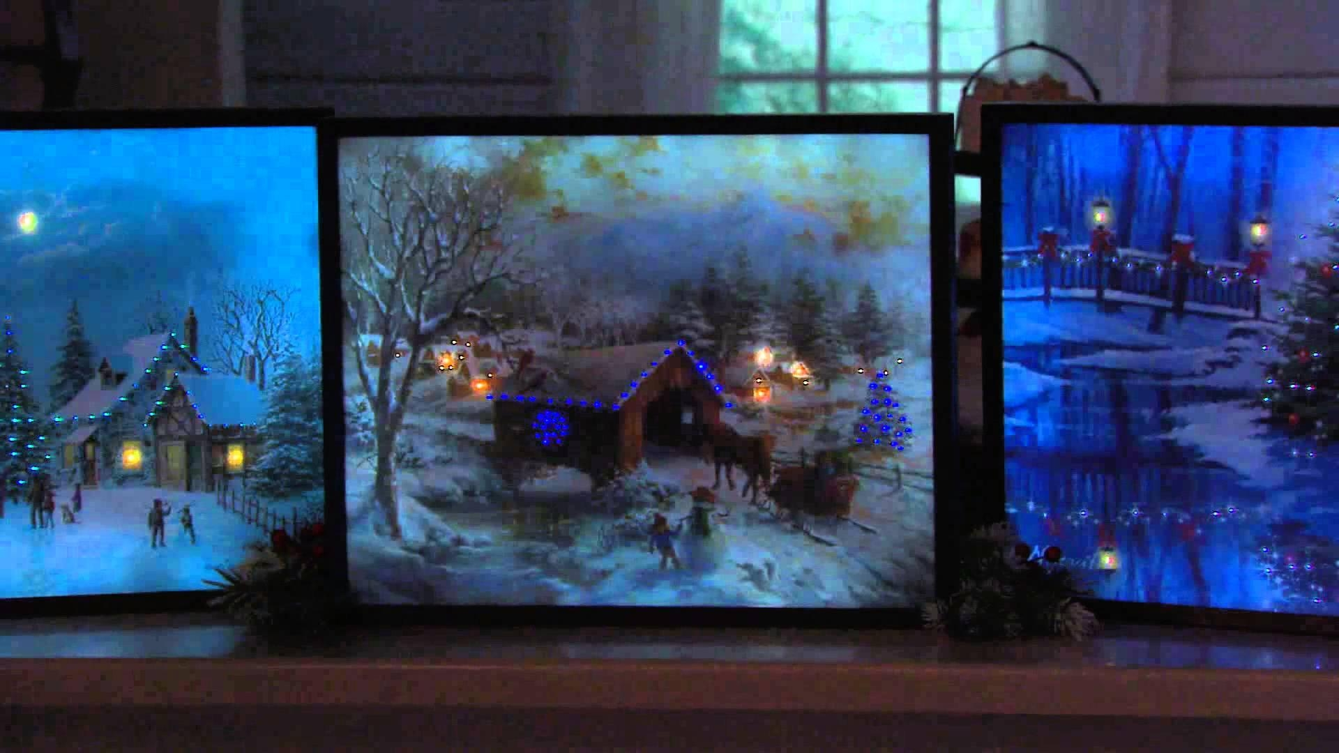 "Illuminart 20"" X 16"" Led Backlit Canvas Art With Dan Hughes – Youtube Throughout Backlit Wall Art (Image 7 of 20)"