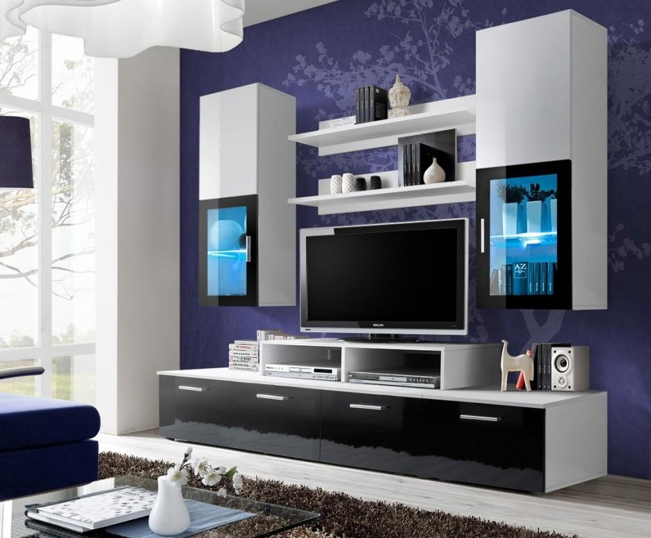 Impeccable Modular Entertainment Unit Introducing Attached Wall Regarding 2017 Modular Tv Stands Furniture (Image 10 of 20)
