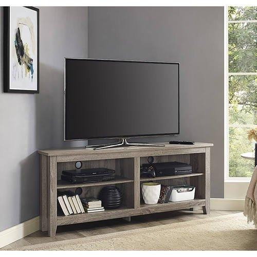 Inch Corner Tv Stand – Driftwoodwalker Edison Regarding 2017 Cornet Tv Stands (Image 13 of 20)