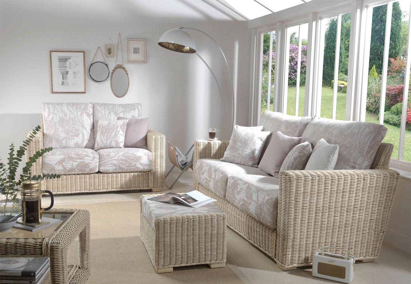 Indoor Can Furniture And Accessories – Spa Home Improvements With Regard To White Cane Sofas (View 22 of 25)