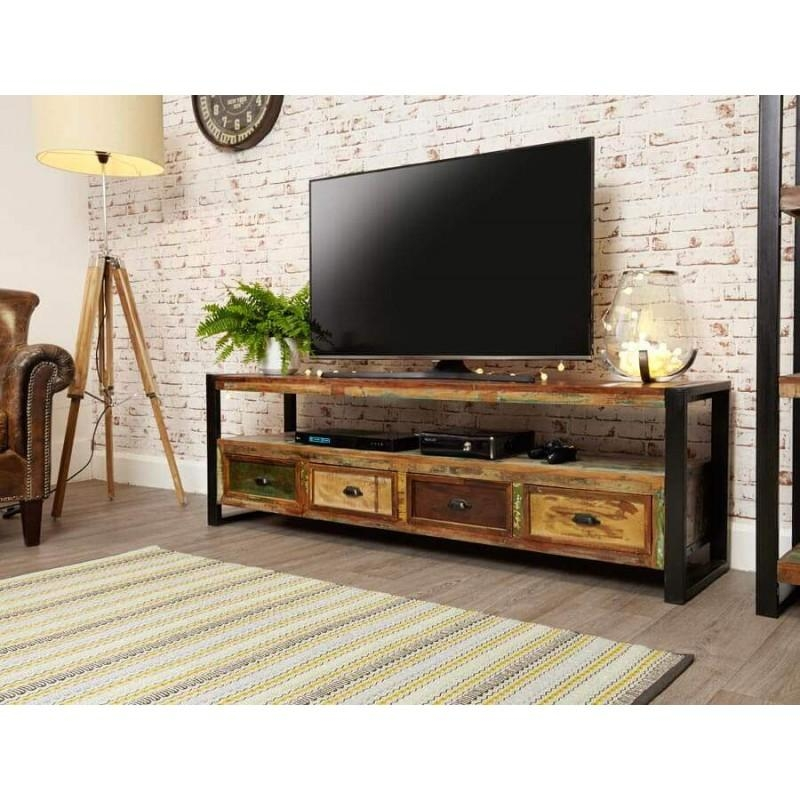 Industrial Furniture & Industrial Style Furniture At Zurleys Uk Inside Most Popular Industrial Tv Cabinets (Image 11 of 20)