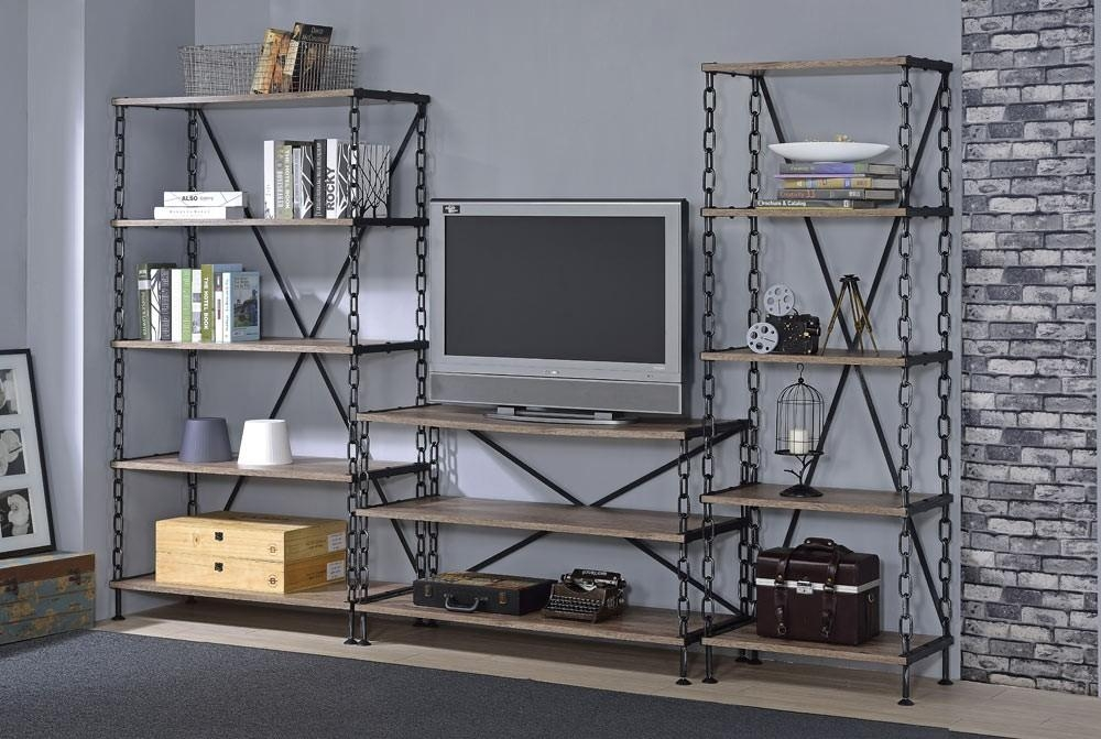 Industrial Style Tv Stand Regarding 2018 Industrial Style Tv Stands (Image 12 of 20)