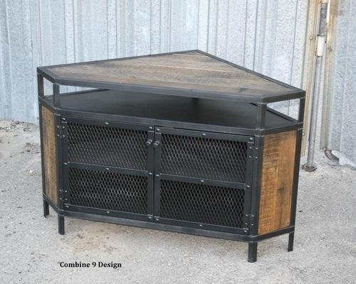 Industrial Tv Stand (Image 10 of 20)