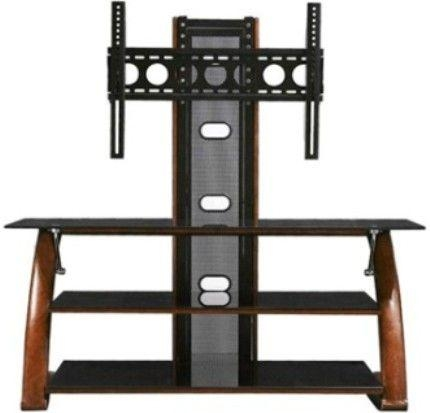 Innovex Tb008G29 Tv Stand, Flat Panel Screens Up To 57 Inches Pertaining To Current Upright Tv Stands (Image 3 of 20)