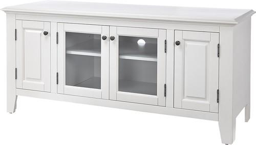"""Insignia Tv Stand For Most Tvs Up To 60"""" White Ns Hwg1655W – Best Buy Throughout Most Up To Date White Tv Stands (Image 9 of 20)"""