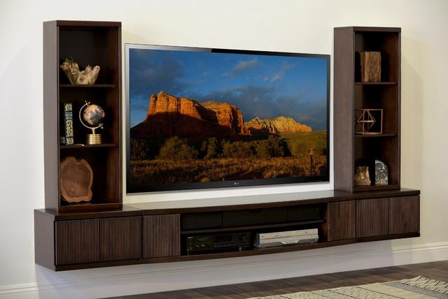 Inspirational Photos Of Wall Mount Tv Stands – Furniture Designs Pertaining To Best And Newest Modern Wall Mount Tv Stands (View 7 of 20)