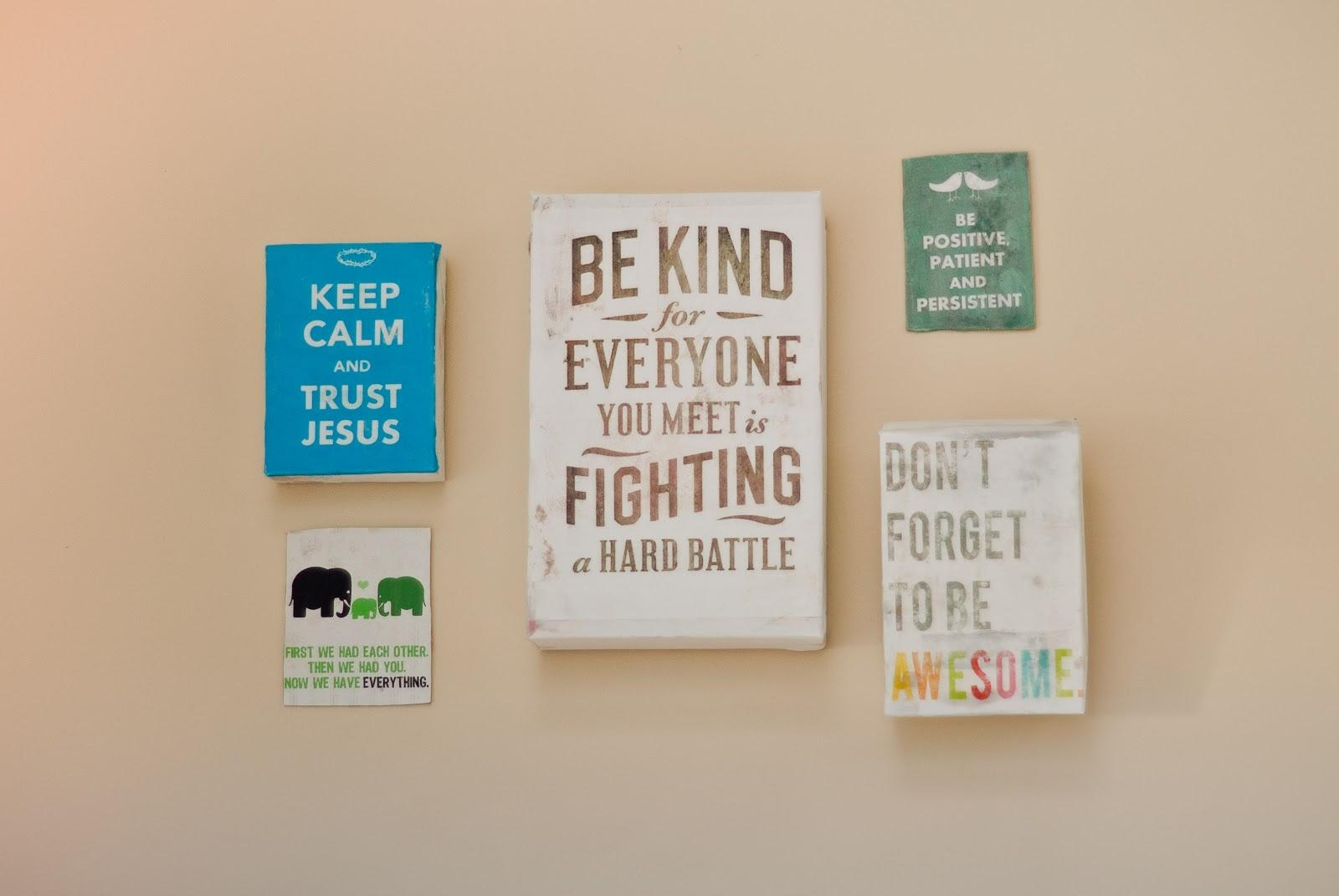 Inspirational Wall Art With Inspirational Quotes Canvas Wall Art (View 4 of 20)