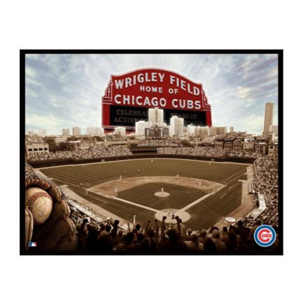 Interesting Decoration Chicago Cubs Wall Art Smartness Ideas Wall Pertaining To Chicago Cubs Wall Art (View 11 of 20)
