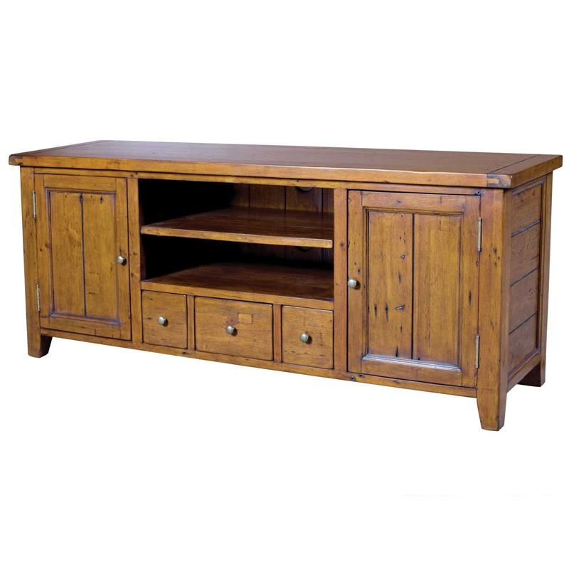 Irish Coast Reclaimed Pine Tv Cabinet | Buy Occasional Tables With Most Current Pine Tv Cabinets (Image 7 of 20)