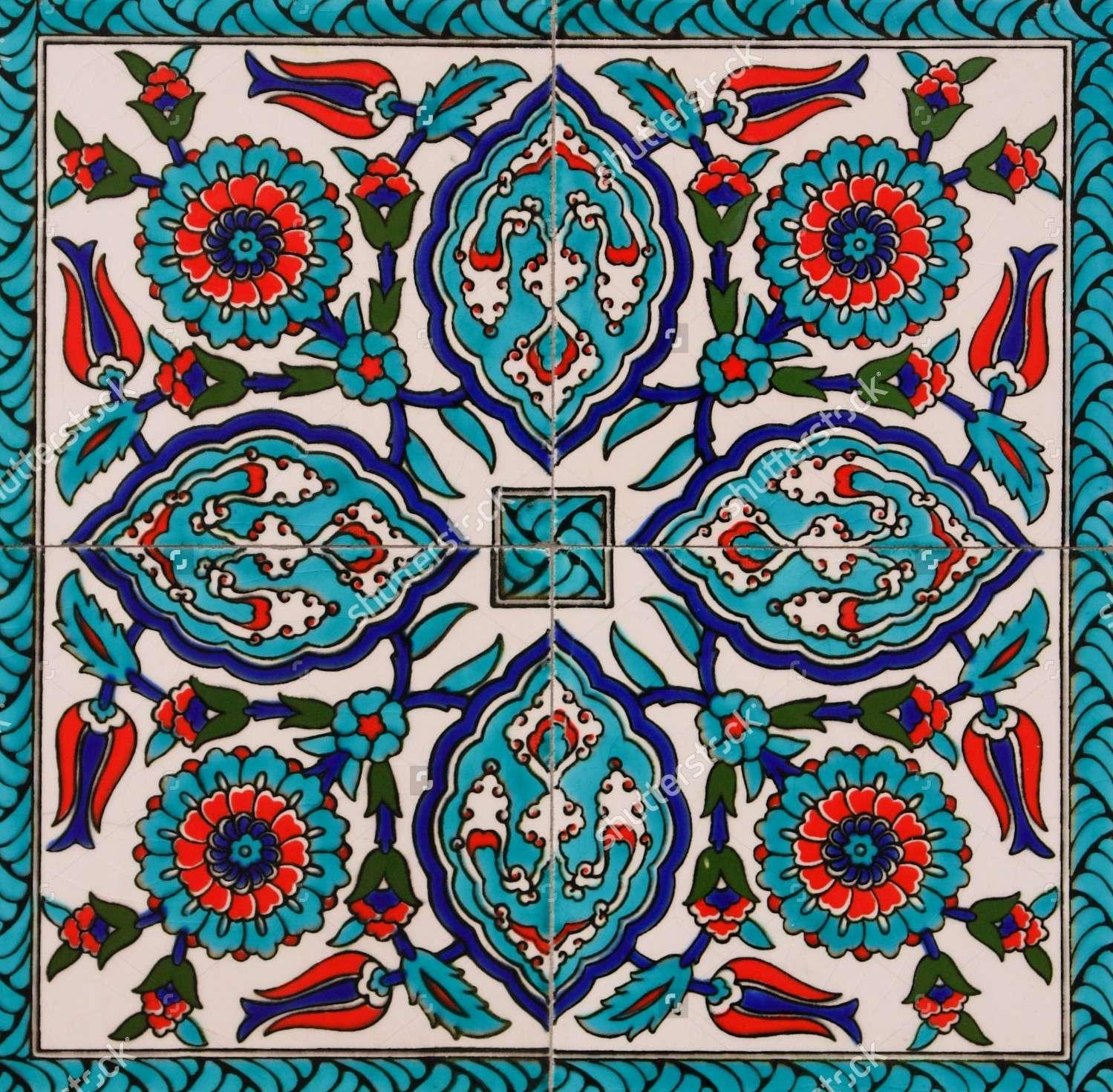 Istanbul: The Tile Art Story | Mozaico Blog For Turkish Wall Art (View 5 of 20)