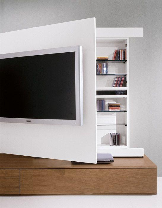 It Could Be Cool To Put Together Some Sort Of Storage *behind* The Throughout Most Current Tv Cabinets With Storage (Image 8 of 20)