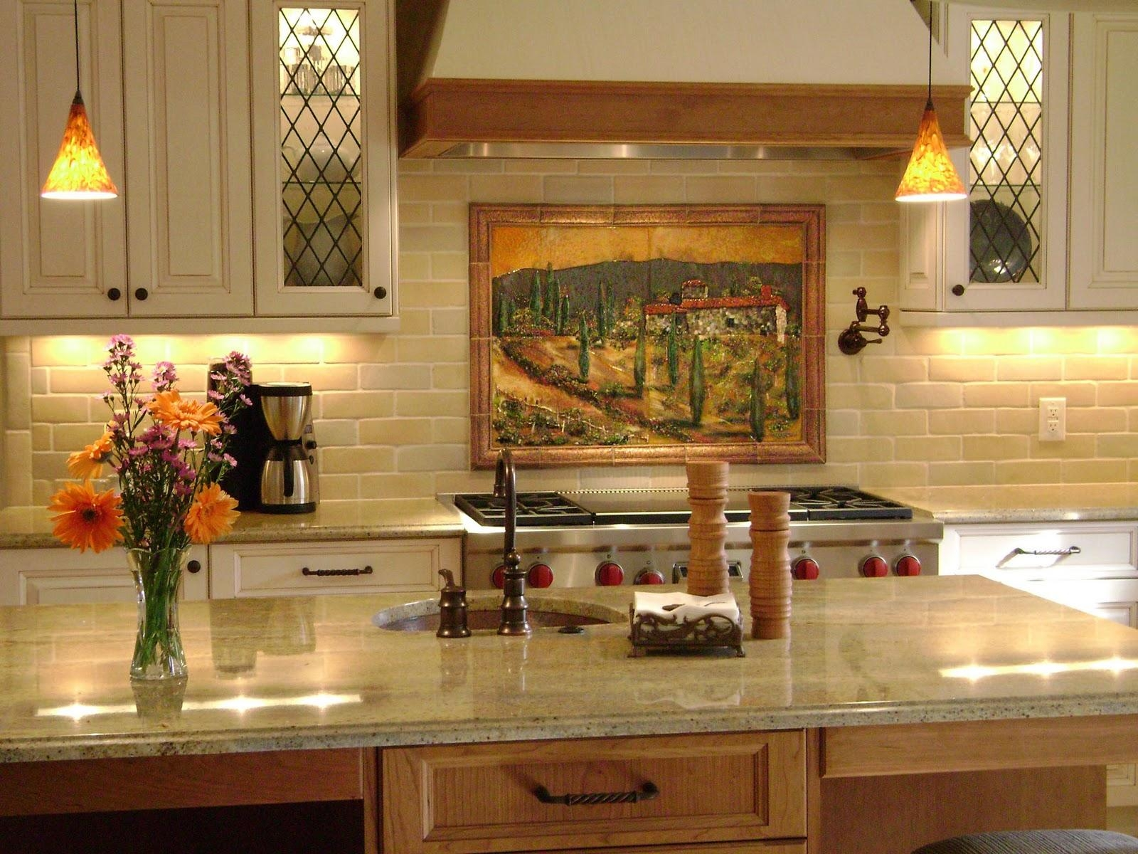 Italian Art Tuscan Kitchen Wall Decor Ideas Inexpensive Tuscan Pertaining To Italian Inspired Wall Art (Image 11 of 20)