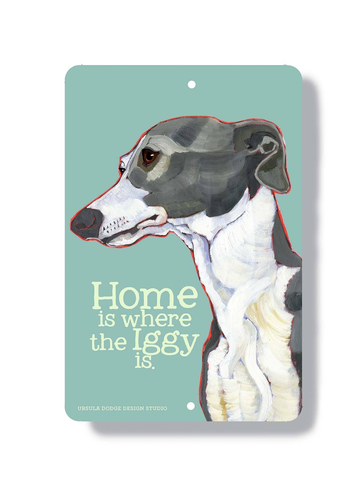 Italian Greyhound Wall Art Metal Sign Indoor Outdoor Home With Regard To Italian Greyhound Wall Art (Image 18 of 20)