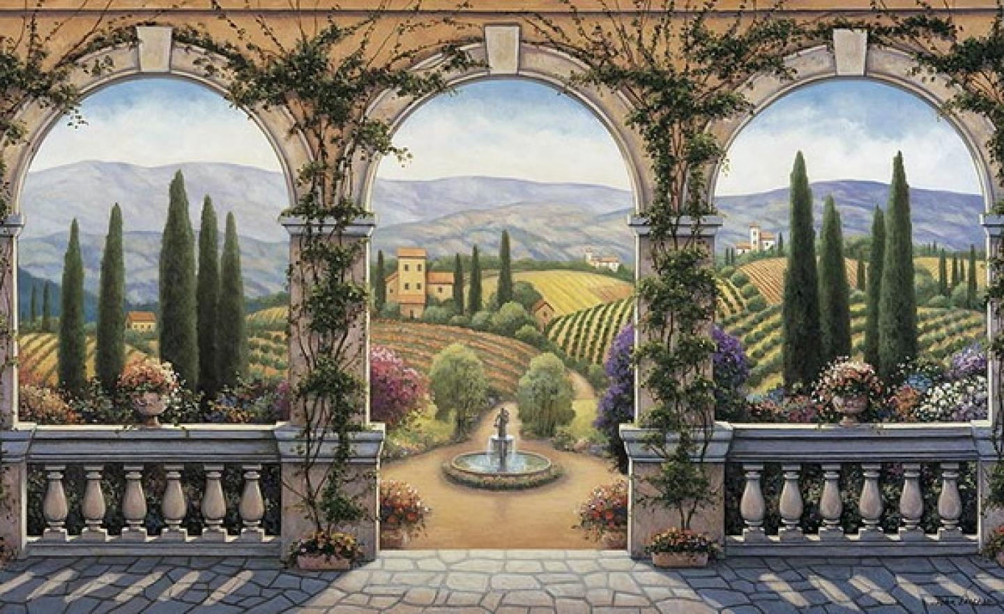 Italian Scene Wallpaper, 47 Italian Scene Images And Wallpapers Inside Italian Scene Wall Art (Image 9 of 20)