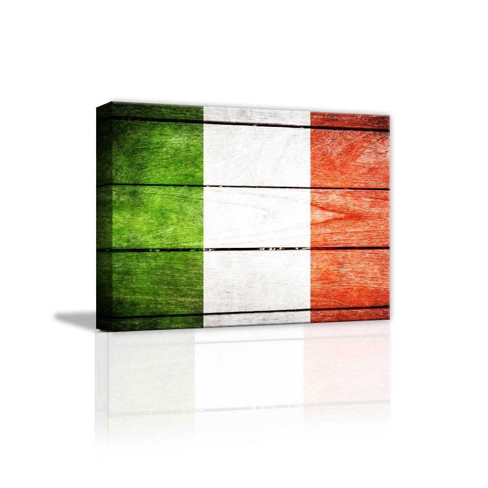 Italian Still Lifes Promotion Shop For Promotional Italian Still Pertaining To Italian Flag Wall Art (View 5 of 20)