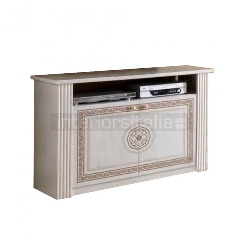 Italian Tv Cabinets | Mcs Pamela | Interiors Italia Sale Throughout Best And Newest Cream Tv Cabinets (Image 14 of 20)
